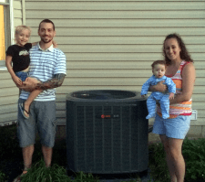 dublin teacher wins trane HVAC