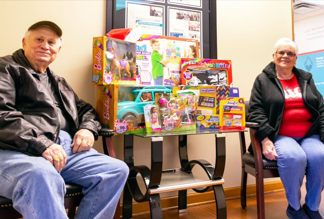 fairborn family wins gifts for girls