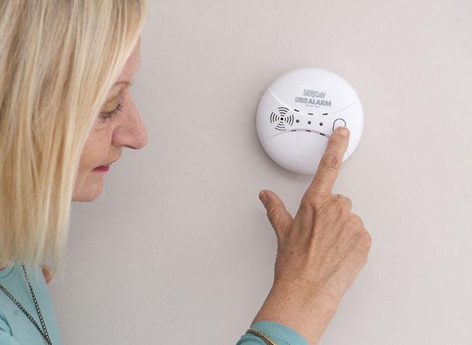 check your carbon monoxide detector