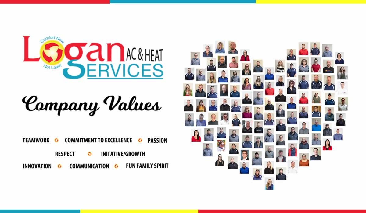 Logan Services' Company Values