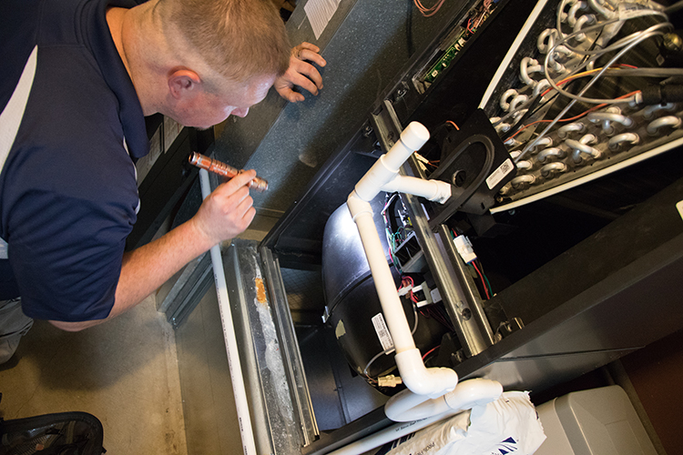 Schedule a repair or tune-up for your furnace