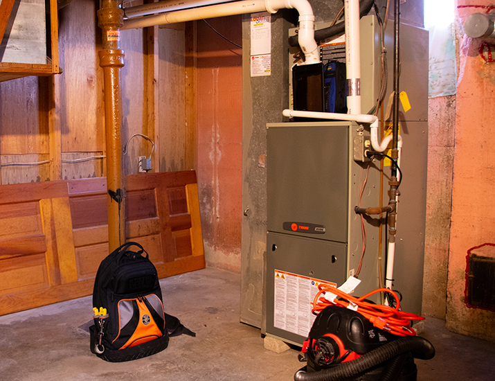 Turn on your furnace before the cold weather