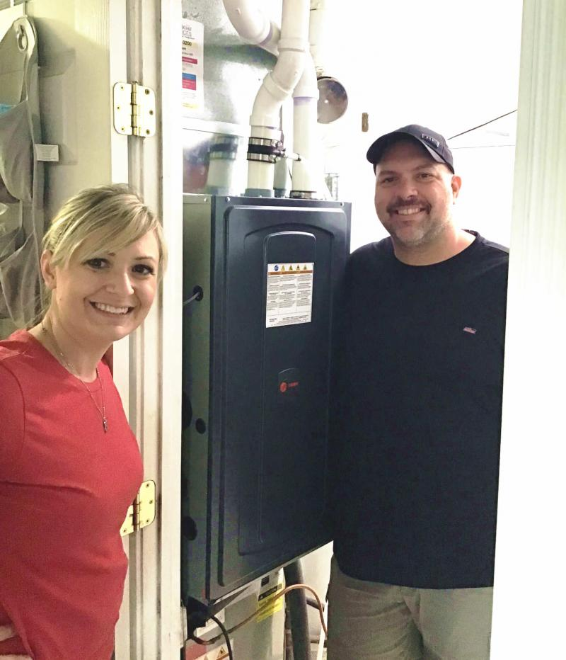Xenia Firefighter/Paramedic Wins HVAC System In Heroes Giveaway