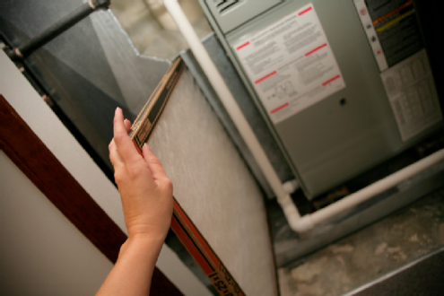 how to change furnace filter