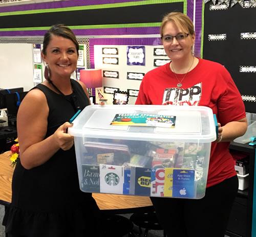 teacher appreciation giveaway winner