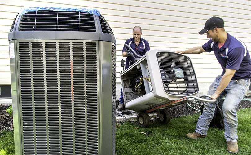 replace your old air conditioner and furnace
