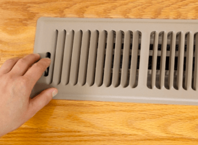 closing vents to HVAC