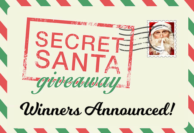 secret santa giveaway