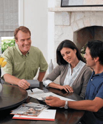 Customers with a Comfort Consultant