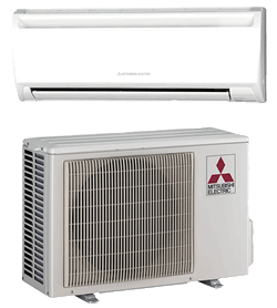 Mitsubishi Ductless Cooling System