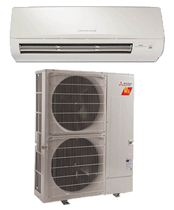 Mitsubishi Ductless Mult-Zone System