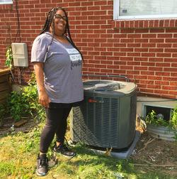 DeCarra Wins A New Air Conditioner
