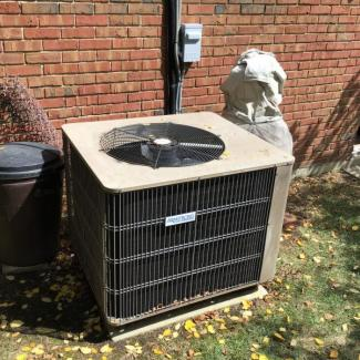 Springdale HVAC - Before