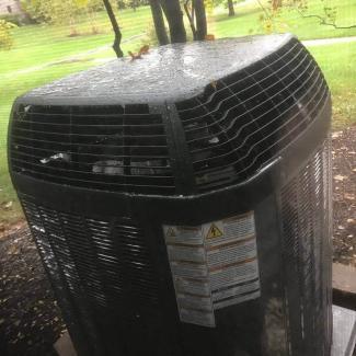 New HVAC system in Dublin Ohio