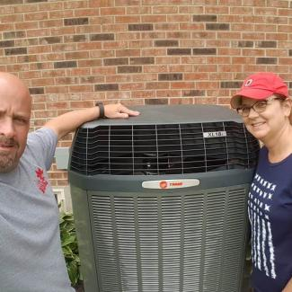 Customers with new Trane system