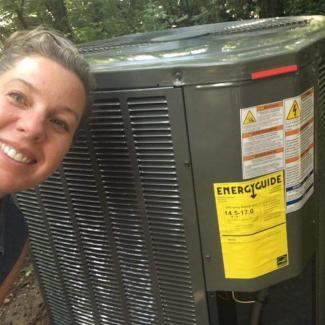 new trane a/c in centerville oh