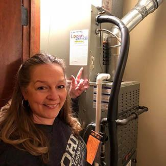 Connie Dayton HVAC Installation