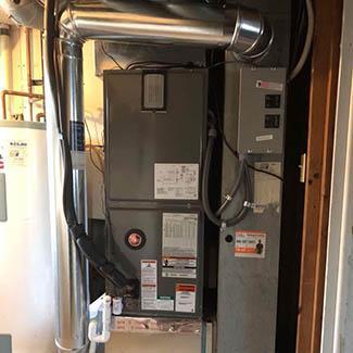 Januka Cincinnati Rheem Heat Pump & Air Handler