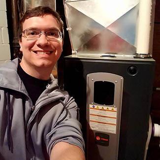 New Trane furnace Cincinnati