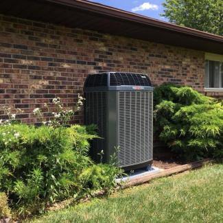 Kathy from Dayton New Heat Pump Installation