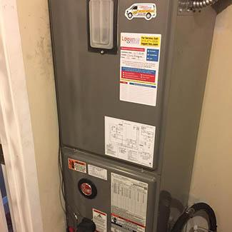 Laurie Fairfield Heat Pump & Air Handler Install