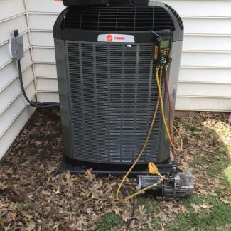 Trane Heating/Cooling Replaced
