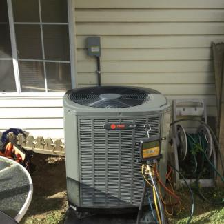 New Trane HVAC Install