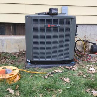 Trane Heating/Cooling Install
