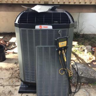 Galloway Heat Pump Install