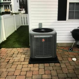 Rheem Heating/Cooling Install