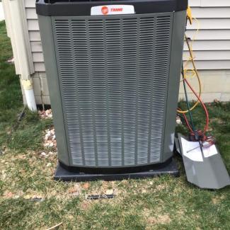 New Trane HVAC System