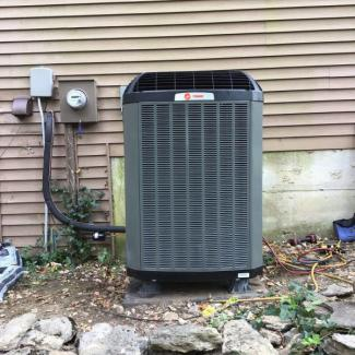 Trane XL18i Heat Pump Upgrade