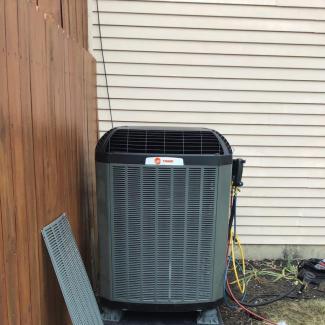 Trane Heating/Cooling Upgrade