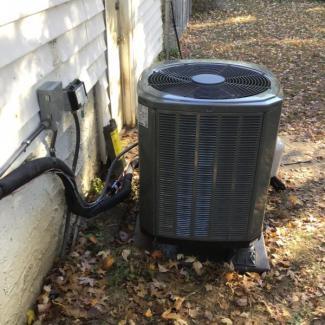 New Heat Pump Install
