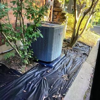 Norwood Trane HVAC Install