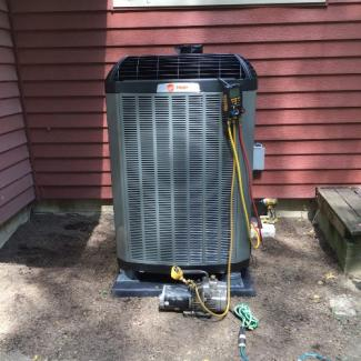 Ostrander Heat Pump Install