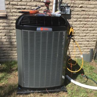 HVAC Replacement To Trane