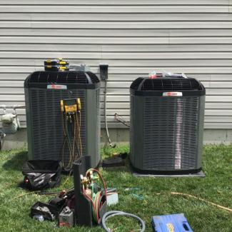 Two System Trane Upgrade