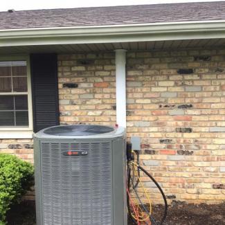 Tipp City Trane HVAC Install