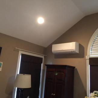 Ductless system in Morrow