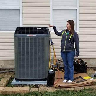 Amy from South Bloomfield A/C & Furnace Install