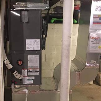 Blaine Lebanon Heat Pump and Air Handler Installation