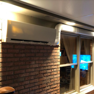 mitsubishi ductless install cincinnati