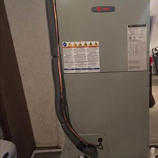 Nancy Oxford Air Handler & Heat Pump Installation