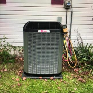 Heating/Cooling Trane Install