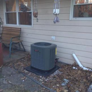 New Trane HVAC System Install