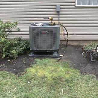 Trane Heat Pump Installation