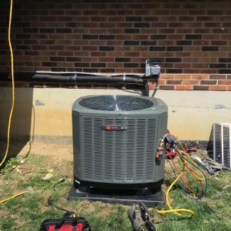 Finneytown Heat Pump Install
