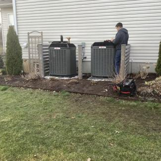 Franklin HVAC System Install
