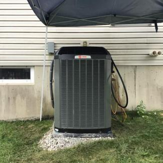 Heating/Cooling System Replace